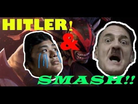 Hitler se entera que Smash fue baneado por Valve Corporation I2016