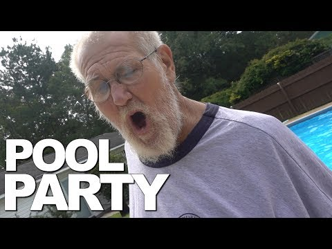 THE POOL PARTY!!