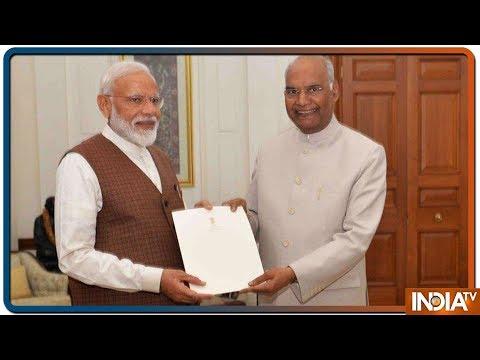 President Ram Nath Kovind invites PM Narendra Modi to form government