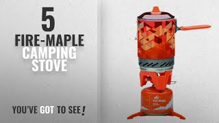 Top 5 Fire-Maple Camping Stove [2018]: Fire-Maple Star FMS-X2 Outdoor Cooking System Portable Camp