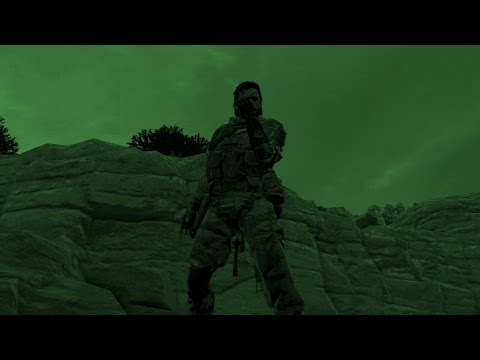 MGS5 Online - Bounty Hunter - Red Fortress - Big Boss Gameplay - Both Long Rounds (Night)