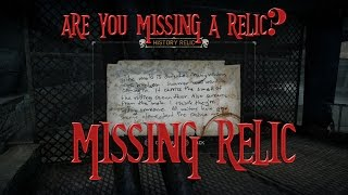 Missing Relic 97? Some people are having a hard time finding this one.