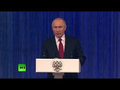 Путин поздравил российских военных с Днём защитника Отечества