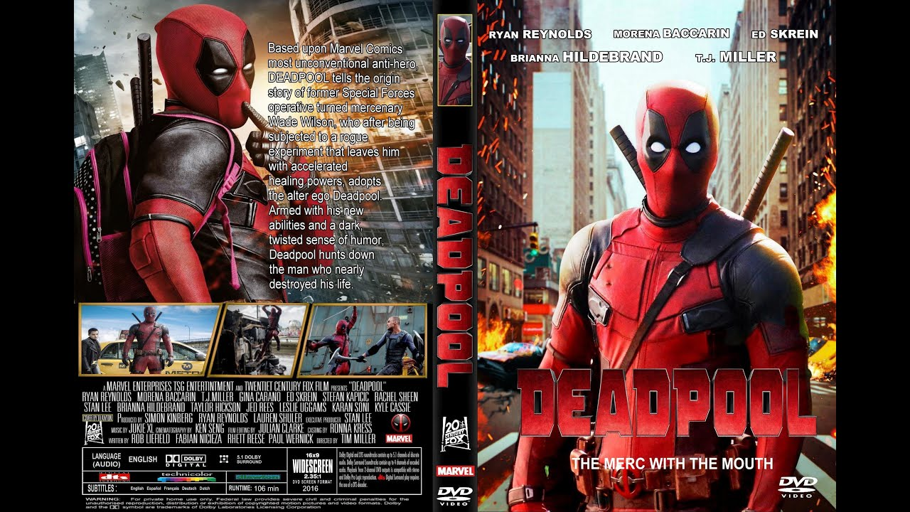 deadpool is now on blu ray and dvd youtube. Black Bedroom Furniture Sets. Home Design Ideas