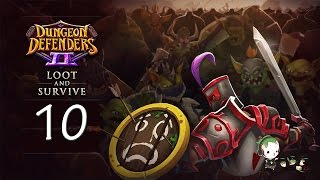 dungeon defenders 2 10   my pajamas c   loot and survive