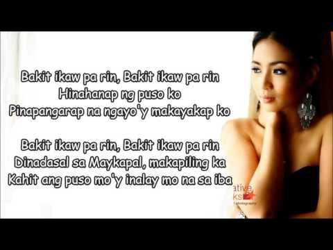 Bakit ikaw pa rin - Maricris Garcia w/Lyrics