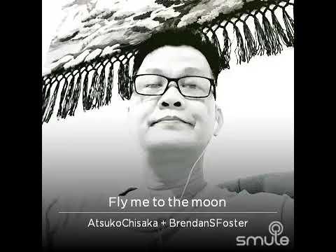 HR - Fly Me to the Moon - Atsuko Chisaka ♥🌙 😎🌖♥