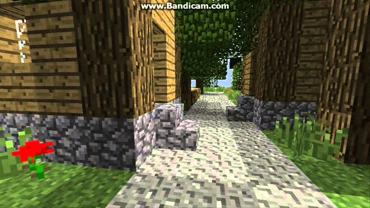 minecraft the deserted village