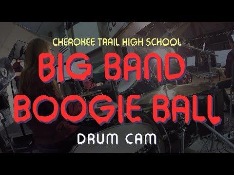 Big Band Boogie Ball - Cherokee Trail High School | Haleigh Bird Drum Cam