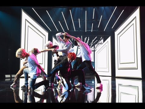 AMAs Releases Photos of BTS Reheasing For Performance AMAs
