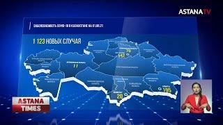 Число новых случаев заражения коронавирусом в Казахстане заметно снизилось