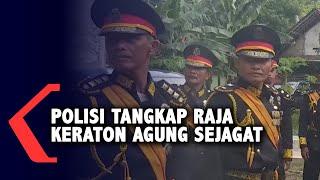 Polisi Tangkap Raja dan Ratu Keraton Agung Sejagat