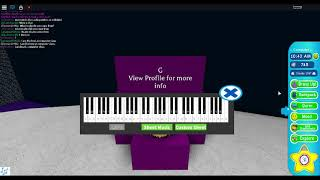 playing megalovania on a roblox keyboard