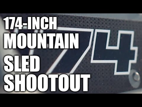 174-inch Mountain Sled Shootout