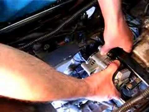 Alternator And Regulator Wiring Honda St1100 40 Amp Alternator Install 90 Deg Youtube