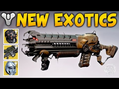 Destiny: APRIL UPDATE EXOTICS! New Perks & Improved Exotic Gear (Spring DLC News)