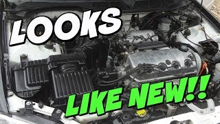 HOW TO CLEAN / DEGREASE YOUR ENGINE BAY
