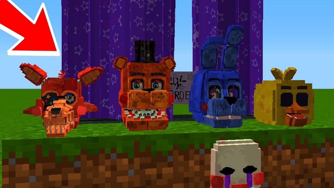 Fnaf Universe Mod Minecraft Pe