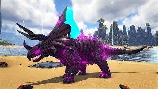 ARK (The Center MOD) #4 - Bá Chủ Khủng Long 2 Tỷ Dame (Tek Triceratops)