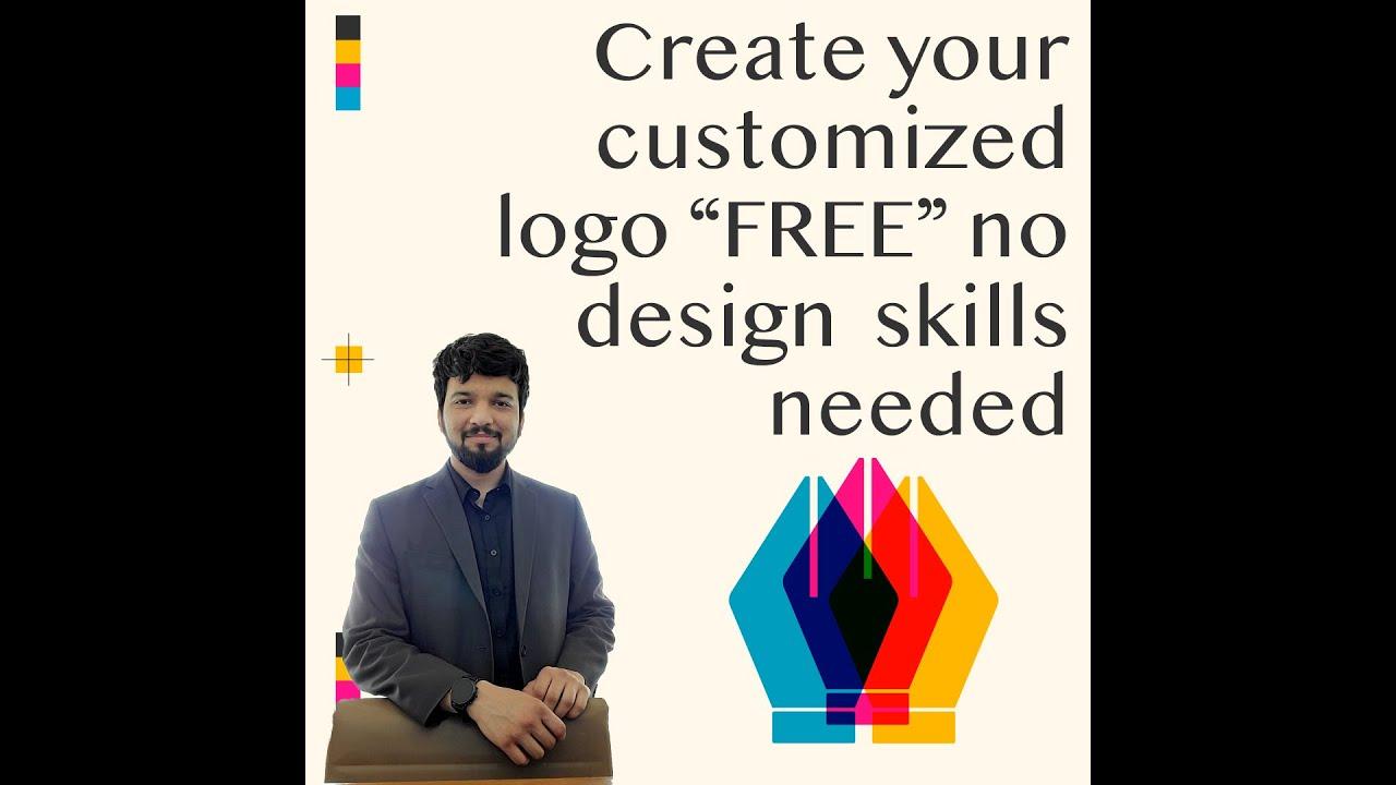 Create Free Logos Without Paying Any Money Logo Designing Youtube