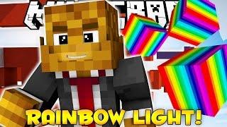 Minecraft RAINBOW LIGHT RUSH PARKOUR (Nyan Cat - Moving Platforms) w/ JeromeASF