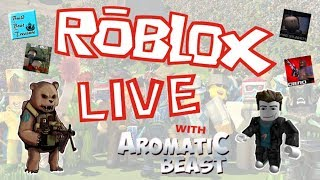 Roblox - Streaming With Eletrin -