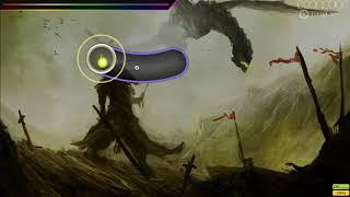some noob osu gameplay