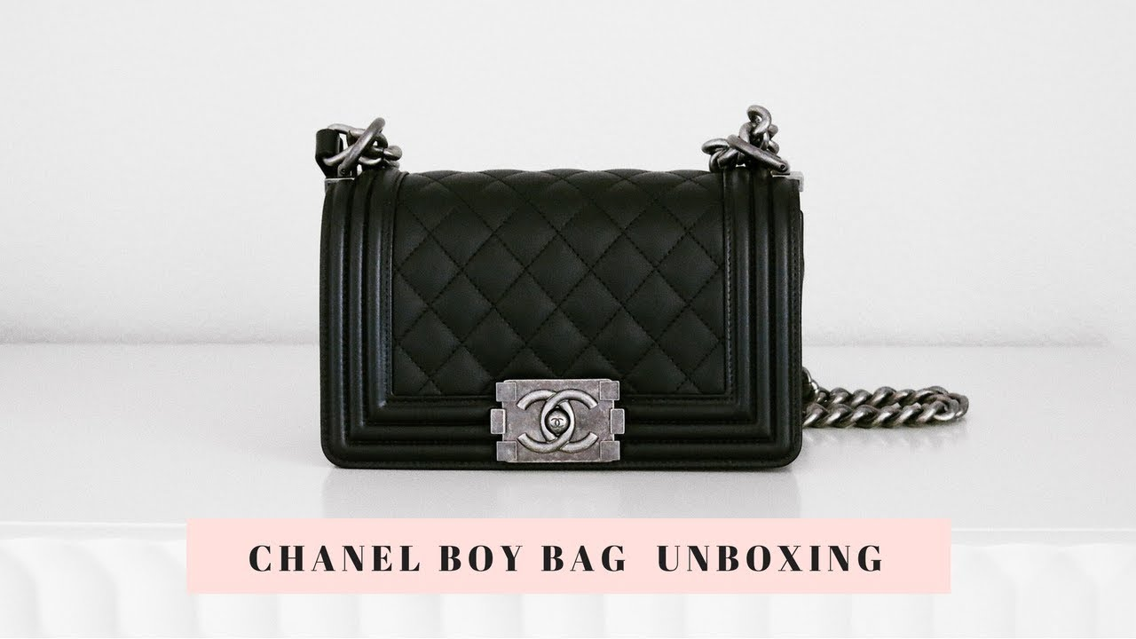 26dc3dacb7d4a Chanel Boy Bag Unboxing! - YouTube