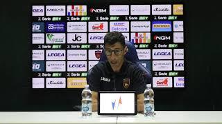 Mister Occhiuzzi Nel Post Gara Di Cosenza - Trapani