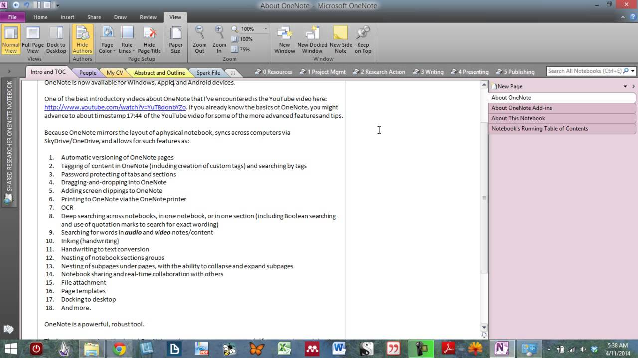 Downloadable] OneNote Binder Tailored for Academic