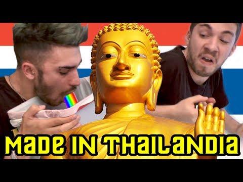 MADE IN THAILANDIA CHALLENGE 🇹🇭 | Matt & Bise