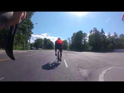 Timelapse av sykkeltur i Oslo