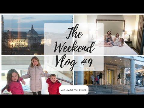 Weekend Vlog #9   Cardiff Hilton Hotel #ad
