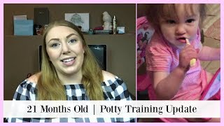 POTTY TRAINING UPDATE | POTTY TRAINING AT 21 MONTHS