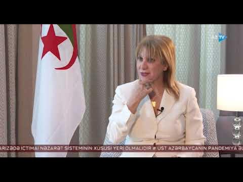 Algerian Ambassador Ms. Salima Abdelhak's interview to Azerbaijan Television (AzTV)