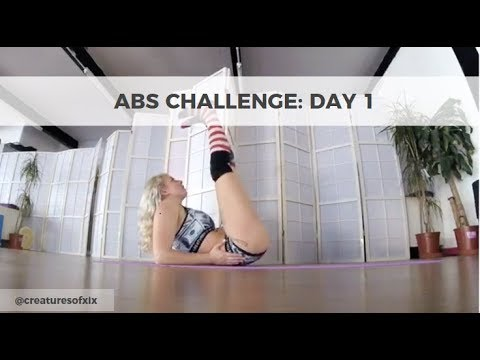XIX Abs Challenge: Day 1!