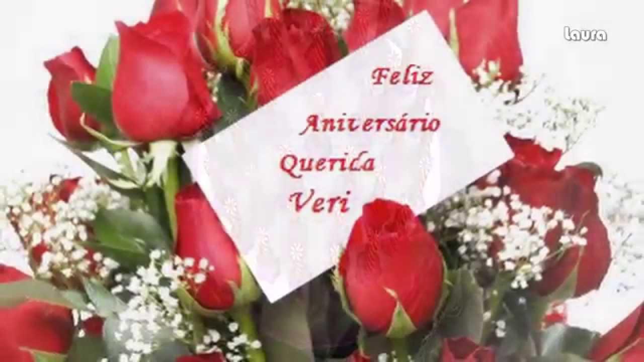 Parabéns A Você Pessoa Querida: Feliz Aniversário Querida Veri