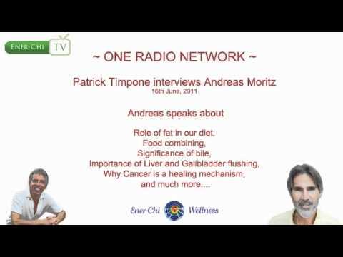One Radio Network: Patrick Timpone interviews Andreas Moritz