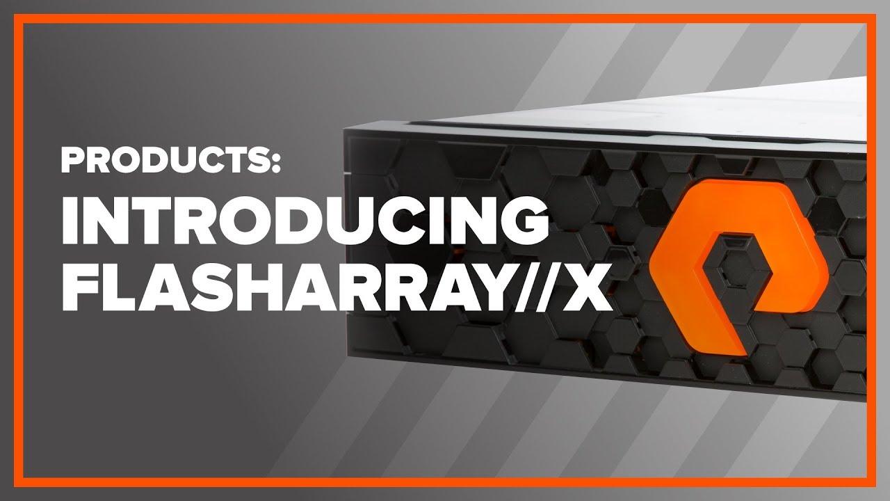 Purestorage FlashArray//X: The Next Gen All-Flash Array