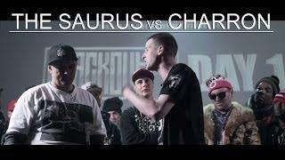 KOTD - Rap Battle - The Saurus vs Charron