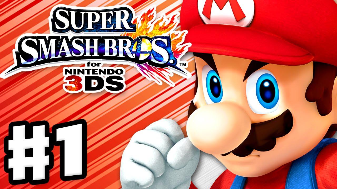 Nintendo Bros Mario 3ds Smash Super should
