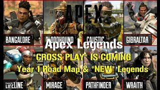Apex Legends  *CROSS PLAY* IS COMING!!! | *NEW* Legends!!! & Battle Pass