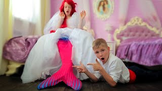 Русалочка НЕВЕСТА! сказочная свадьба