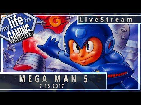 Mega Man 5 7.16.2017 :: LiveStream - Mega Man 5 7.16.2017 :: LiveStream