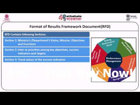 Indian Administration 11 Results Framework Document RFD 35B