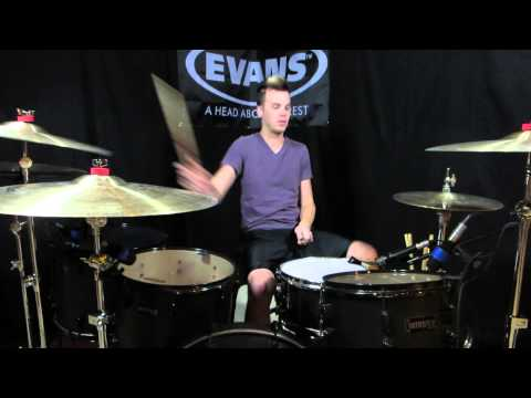 Stellar Kart - Let It Go (Rock Cover) - Drum Cover - Brooks