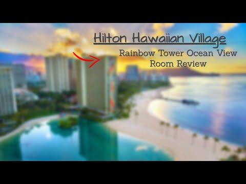 Hilton Hawaiian Village Rainbow Tower Partial Ocean View