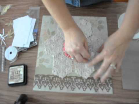 Vintage doily wall art youtube - Vintage wall painting ideas ...