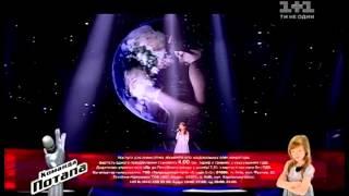 Анастасия Багинская Мир без войны   Голос  Дети   Суперфинал   Сезон 2