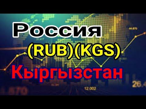 Курс Российский рубль (RUB - KGS ) Киргизский сом валюта /  Кыргызстан